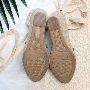 Soludos Shoes - Soludos Denim Espadrille Wedges